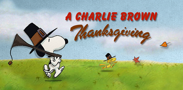 A Charlie Brown Thanksgiving, now on your smartphone and tablet