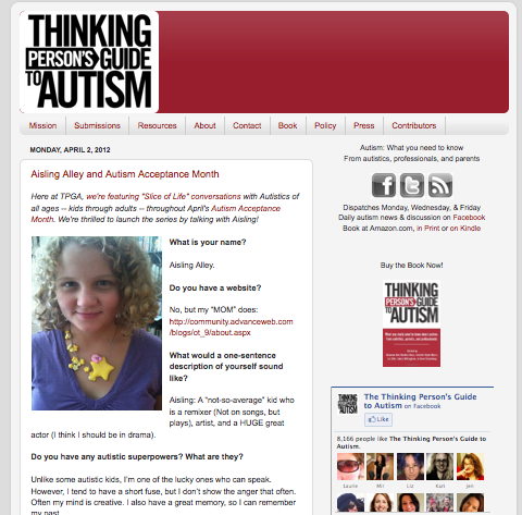 5 excellent Autism blogs in honor of World Autism Awareness Day