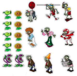 Plants vs. Zombies on your wall!