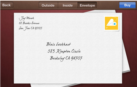 Apple's Cards app: Getting Mother's Day cards from your online mailbox to a real live maibox