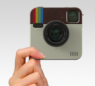 Piquing Our Geek: Instagram Socialmatic Camera