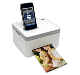 The iPhone Photo Printer. AKA Genius. Pure genius.