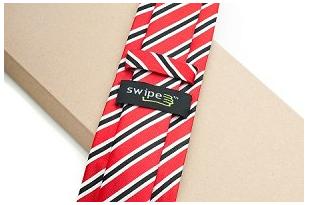 SwipeTie — It's a tie! It's a gadget cleaner!