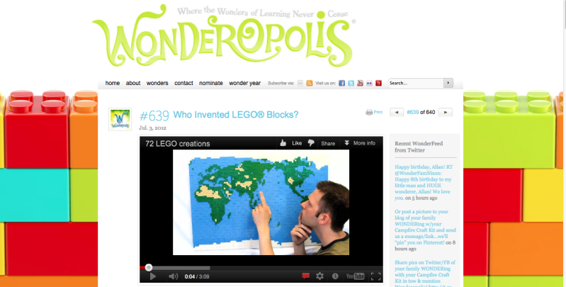 Wonderopolis – like Wikipedia for kids but way (way) more fun