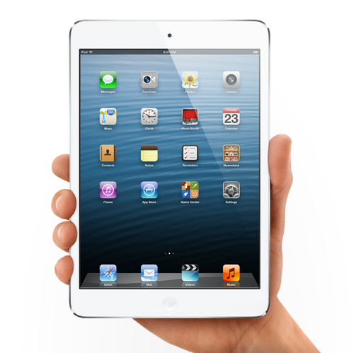 Apple reveals iPad Mini, iPad 4, and more!