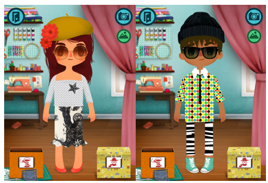 Toca Tailor: Like Project Runway for kids.