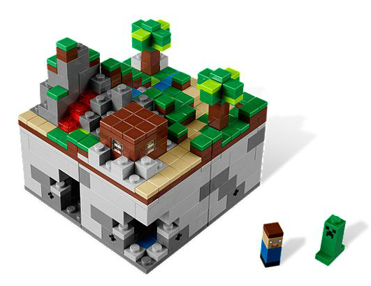 Build onto their Minecraft obsession with these great IRL toys