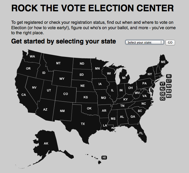 How to find your polling place – and VOTE!
