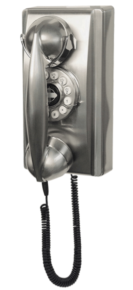 Phones like they used to be back in the days that we walked uphill to school 5 miles, both ways.