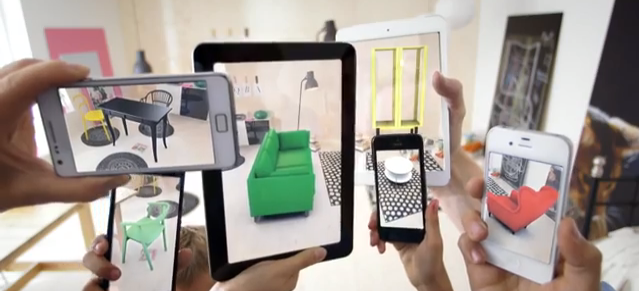 How will that IKEA furniture look in your home? There's an app for that now too.