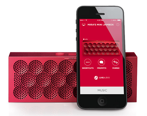The new Jawbone Jambox Mini. Ooh, pretty colors!