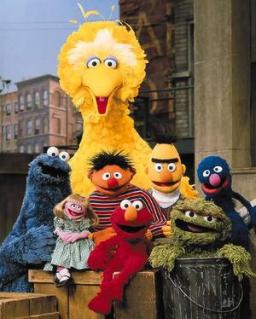 Sesame Street is kickin' it, old school style