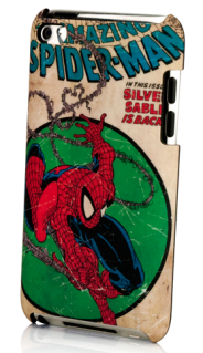 Bam! Wham! Pow! Goes the cell phone case.