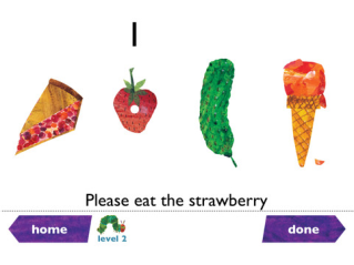 The Very Hungry Caterpillar goes digital