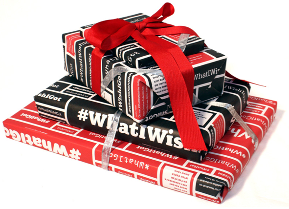 Social media, meet wrapping paper