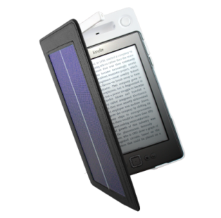 Piquing Our Geek: SolarKindle Lighted Cover
