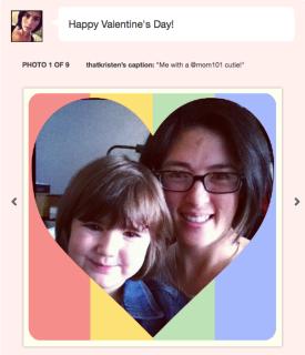 Send an Instagram valentine with Lovestagram