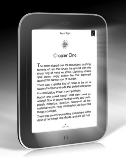 E-readers come out of the dark with NOOK Simple Touch with GlowLight