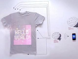Piquing Our Geek – tShirtOS programmable t-shirt