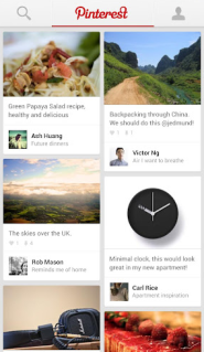 Get Pinterest on Android and iPad, finally!