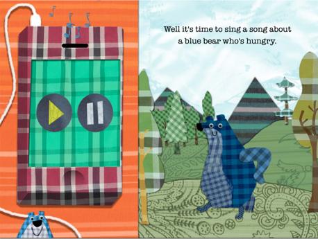 Lucky Diaz's Blue Bear gets his own app