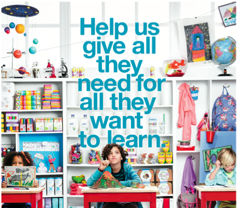Target is giving $5 million to schools. Here's how your school can get some of that.
