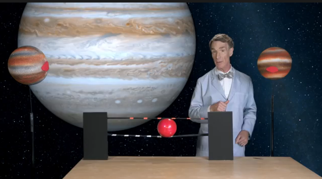 The return of Bill Nye. To the web. Yes!