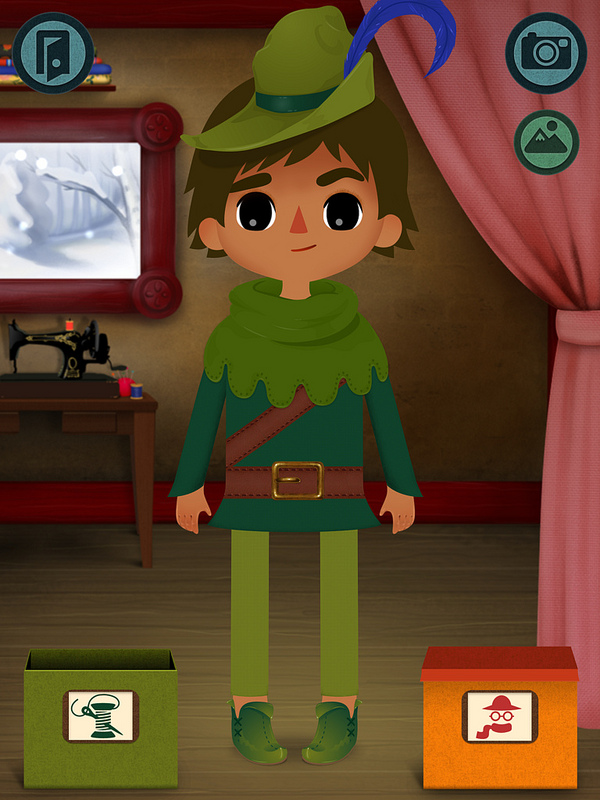 Toca Tailor Fairy Tales: Like Grimm's paper dolls meets Project Runway. Sort of.