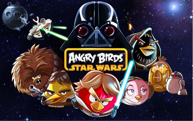 Angry Birds Star Wars. Don't download it. I'm warning you.
