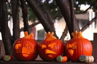 Angry Pumpkins!