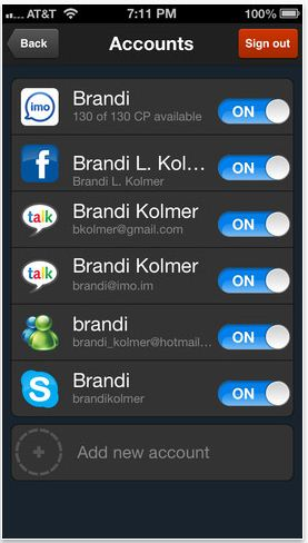 The best way to manage all your instant messages from different places? We've found organizational genius.
