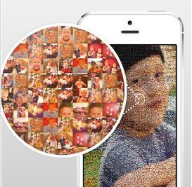 mymosaic brings Chuck Close style artistry to iPhone photos