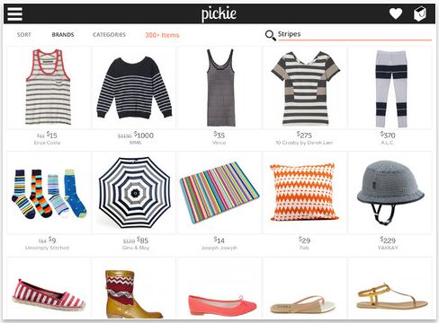 Pickie for iPad makes shopping on an iPad way more fun–and way more easy.