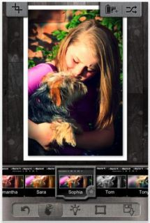 One of the coolest, easiest, free photo editing apps we've found
