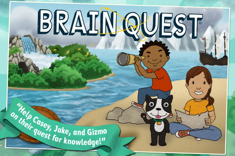 The BrainQuest app is a must for your next road trip