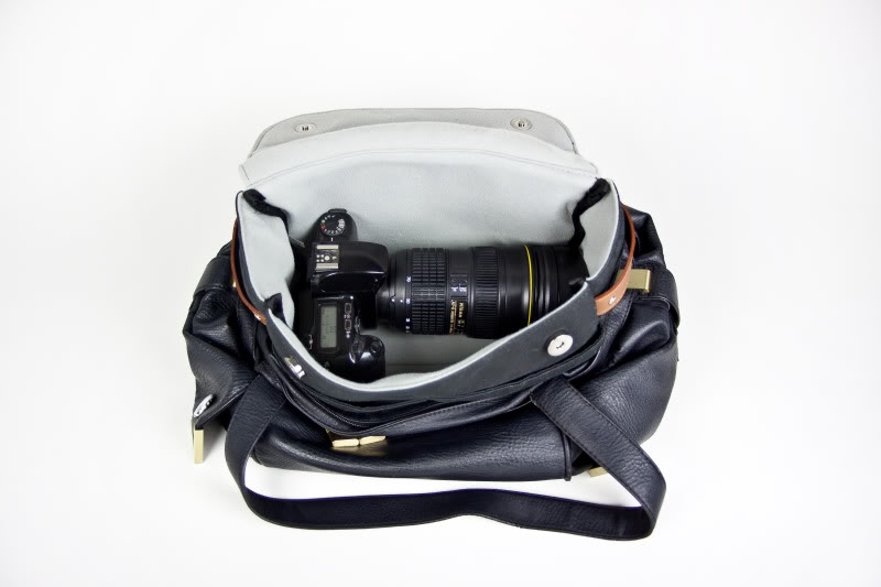 Turning any bag into a camera bag