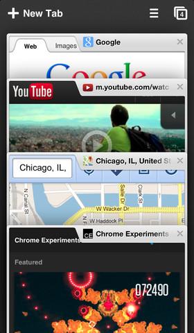 The Chrome app for iOS. Buh-bye Safari.