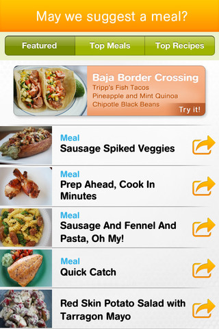 Keeping cooking uncomplicated with the Cooking PlanIt app