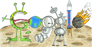 Your kid's doodle on the Google home page = WIN