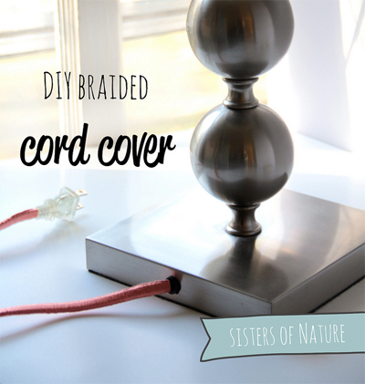 Fun DIY tech project: Braided cord covers