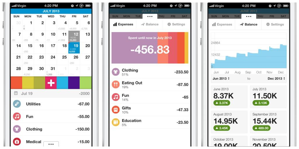 Dollarbird: An app to help track daily expenses, and keep your money from flying away