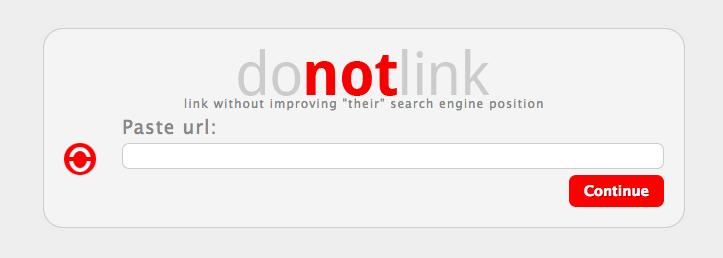 Do Not Link: A scam website's worst nightmare