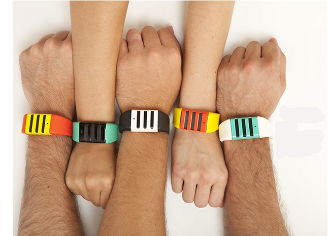 Piquing our geek: The Kapture bracelet can record all the hilarious things your kids say.