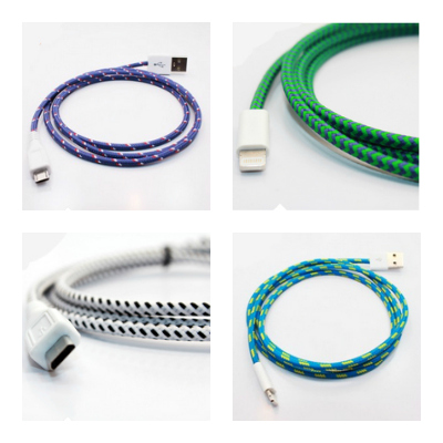 Brightening up fall with colorful cables for your chargers and devices