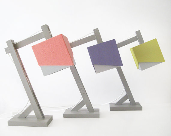A desk lamp to brighten your desk before you turn it on