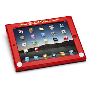 Etch A Sketch iPad Case makes us smile