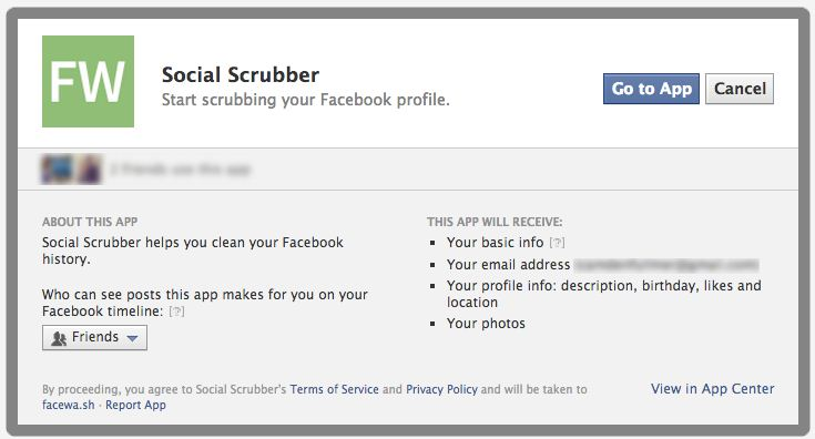 How do you scrub an embarrassing Facebook post? Welcome to SimpleWash.