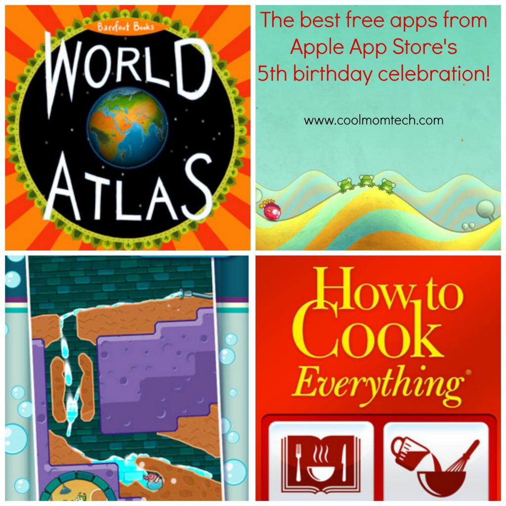 Celebrate Apple App Store's 5th birthday with free apps