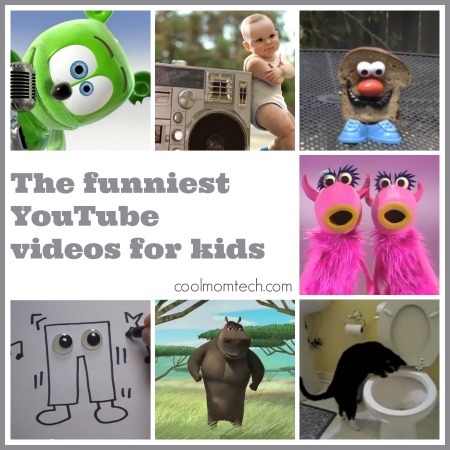 12 of the funniest YouTube videos for kids