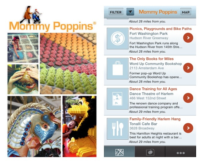 The new Mommy Poppins Kids On The Go App: Never spend another weekend wondering what to do with the kids